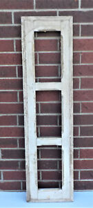Details About Spanish Colonial Antique 3 Pane Window Frame Mexico 43 4 X 11 1 2 Q