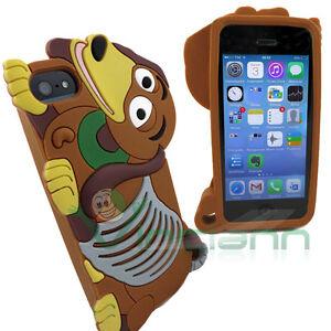 Custodia-silicone-BASSOTTO-per-Apple-iPhone-5-5S-cover-case-morbida-dachshund