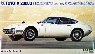 Hasegawa HC-01 Toyota 2000GT Early Type 1967 1/24 scale kit PRM