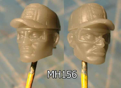 """MH156 Custom Cast Sculpt part Male head cast for use with 3.75/"""" action figures"""