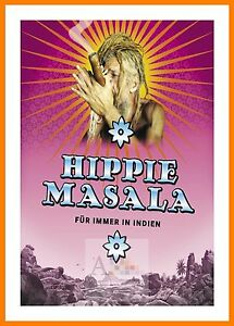 Poster Indien hippie masala fur immer in indien hippy culture movie posters