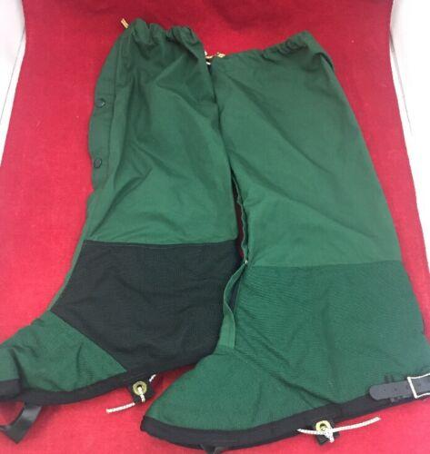 Une paire Gore-Tex Bottes Guêtres vert moyen