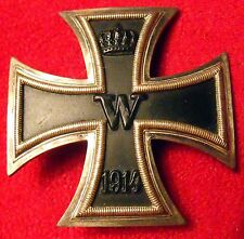 IRON CROSS 1st CLASS, WW2 Production, Vaulted