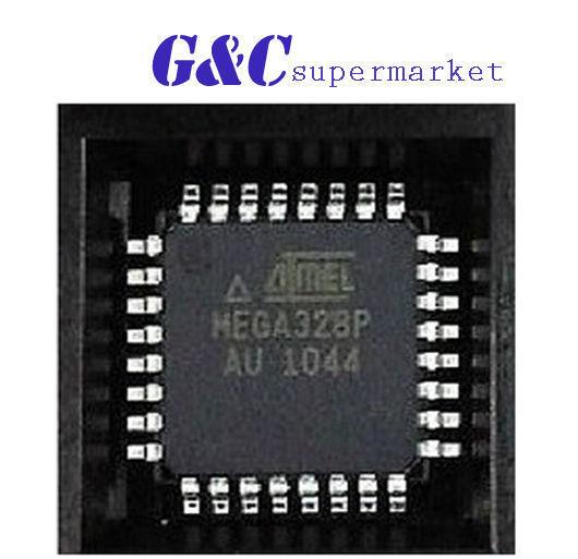 5PCS IC ATMEGA328P-AU TQFP-32 ATMEL  NEW GOOD QUALITY