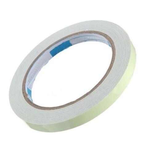Glow In The Dark Sticky Tape Self Adhesive Luminous Saftey Film Sticker Roll Z
