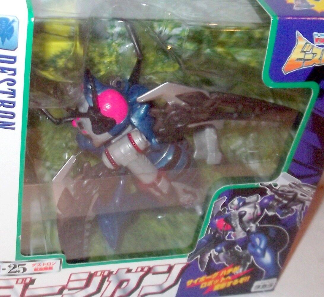 D-25 Dirgegun Transformers Beast Wars II fúnebre Takara Japón Waspinator 1998 Nuevo