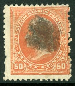 USA-1902-Jefferson-50-Orange-Unwmk-Scott-260-VFU-O965