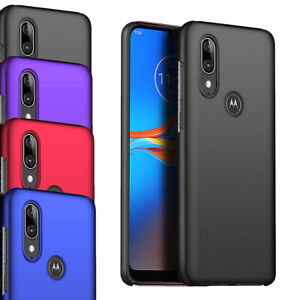 Pour-Motorola-Moto-E6-Plus-6-1-034-Ultra-Slim-Hard-Case-Mince-Hybride-Armure-Housse