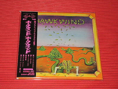 2015 HAWKWIND Hawkwind with bonus track  JAPAN MINI LP HQ CD