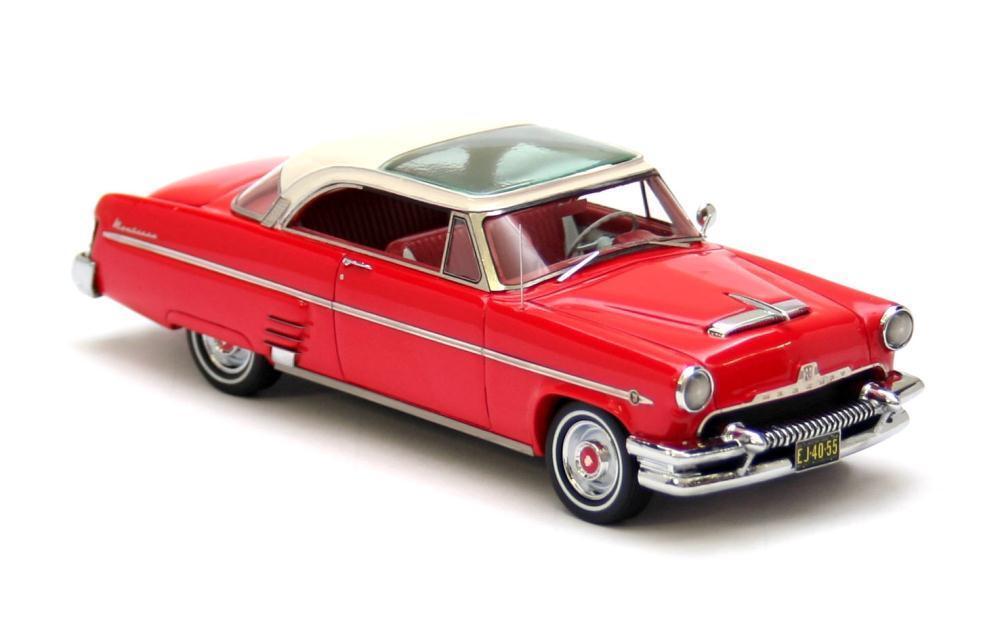 Mercury Monterey hardtop coupe-Rojo 1954 1 43 Neo 44055