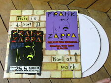 FRANK ZAPPA Live in Mannheim 88 2LP Gatefold VYNIL COULEUR Rare