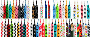 PATTERNED-COLOURED-FUNKY-DESIGN-FLAT-SHOELACES-LACES-62-DESIGNS-2-LENGTHS