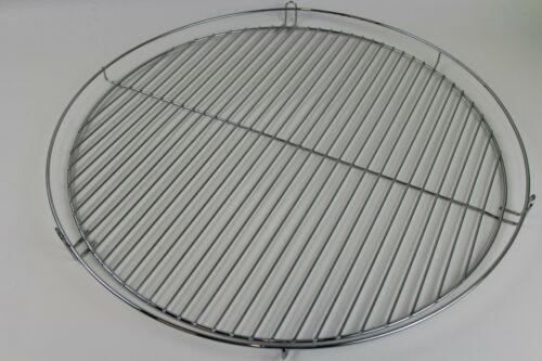 Barbecue Grid 30//40//50//60 or 70cm Chrome Plated Three Legged Hanging Grill