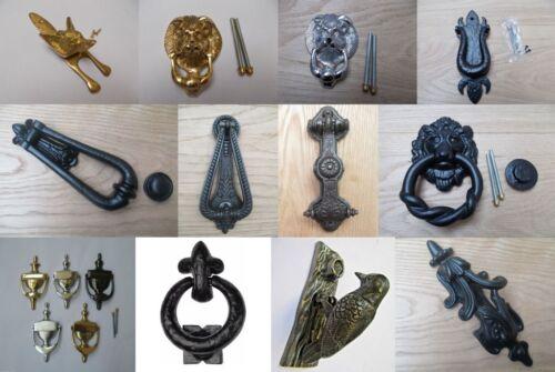 FRONT DOOR KNOCKER traditional classic /& vintage victorian designs-CHOOSE