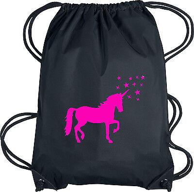 Rucksack-Beutel Gym-Bag Tasche Hipster Turn-Beutel Einhorn unicorn Sport-Beutel