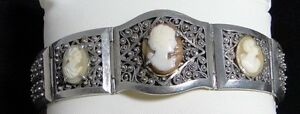 BRACELET-DECOR-DE-CAMES-1920-ARGENT-METAL-CHROME-D81