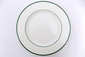 "3 Pagnossin Bread Salad Plates Spa Yellow Green Trim Ironstone Italy 8 1//4/"""