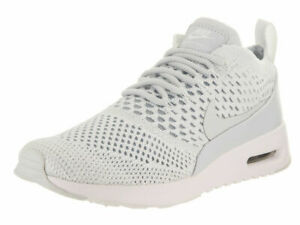 Details about Nike Women's Air Max Thea Ultra Flyknit Trainers Pure Platinum Size 9 10