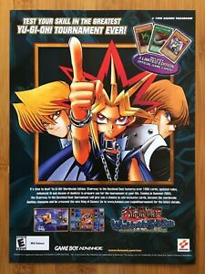 Yu-Gi-Oh! Worldwide Edition GBA 2003 Print Ad/Poster Official YuGiOh Promo Art