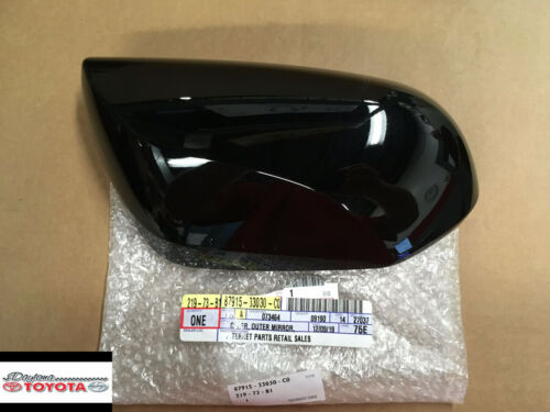 TOYOTA  CAMRY OUTER MIRROR COVER   ATTITUDE BLACK FITS 2018 ONLY PASSENGER SIDE