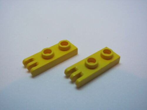 LEGO 4275 @@ Hinge Plate 1 x 2 3 Fingers Yellow x 2-5571 6755 8460 8853 8869