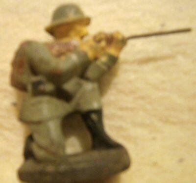 Duro Massefigur Soldat Kniend 5cm Hitze Und Durst Lindern.