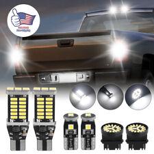 6x For Chevrolet Silverado Led Back Up Reverse Light Bulbs License Headlight Kit Fits 2005 Chevrolet Silverado 2500 Hd Ls