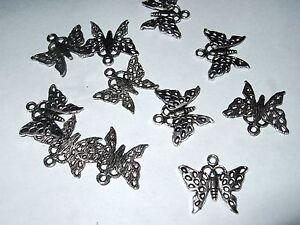 LibéRal - Minuteria X Bigiotteria - Pendente Charms - Farfalla (t45) - 8 Pz Ca.