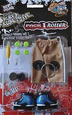 "Nouveaute - Finger Skate In Line ""grip And Tricks"" Finger Roller - Model 22"