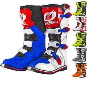 Oneal-Rider-Eu-Stivali-da-Motocross-Mx-Off-Road-Dirt-Bike-Atv-Corsa-o-Quattro