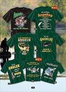 Kleidung & Accessoires 2019 Neuer Stil Cooles Angel Fun T-shirt Angeln Und Bier Bedruckt Angler Fischen Fishing