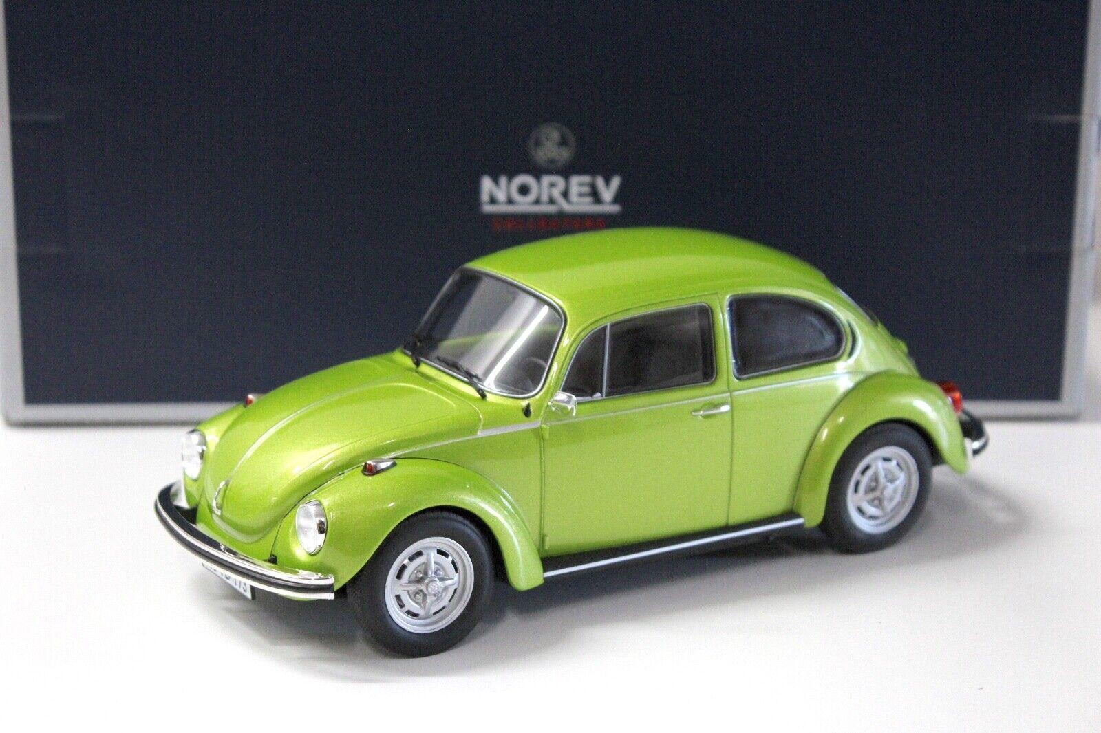 1 18 Norev VW Käfer 1303 green 1972 NEW bei PREMIUM-MODELCARS