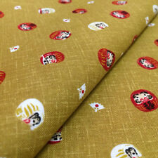 [ON SALE]1/2YD Oriental Asian Japanese Style Cotton  fabric sewing - JPYW0615