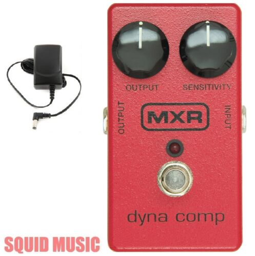 FREE POWER SUPPLY ADAPTER MXR M-102 Dyna Comp Compressor Pedal M102