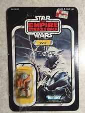 1980 Vintage Star Wars Empire Strikes Back ESB YODA 32 Back Figure MOC