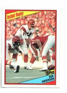 1984-TOPPS-KEN-ANDERSON-INSTANT-REPLAY-NM-MT