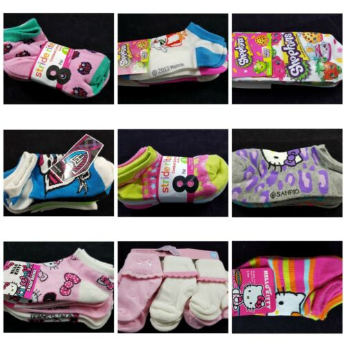 Girls Socks Child /& Youth Sizes Free Shipping