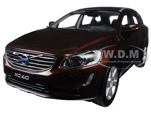 Details about 2015 VOLVO XC60 RICH JAVA 1/18 DIECAST MODEL CAR BY ULTIMATE  DIECAST 88200