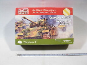 Plastic-Soldier-20011-German-Panther-with-Zimmerit-1-72-lose-in-box-mb3313