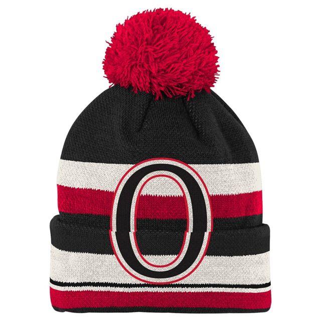 16bbb1ddf9d ... get nhl ottawa senators ccm pom knit hat ski cap beanie one size new  with tags ...