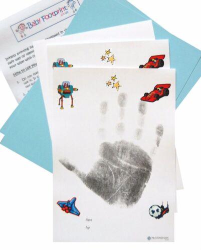 Grands garçons INKLESS main print /& empreinte Kit pour les enfants plus âgés