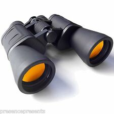 UKHobbystore 10x50 ruby lens full size binoculars general purpose bag and strap