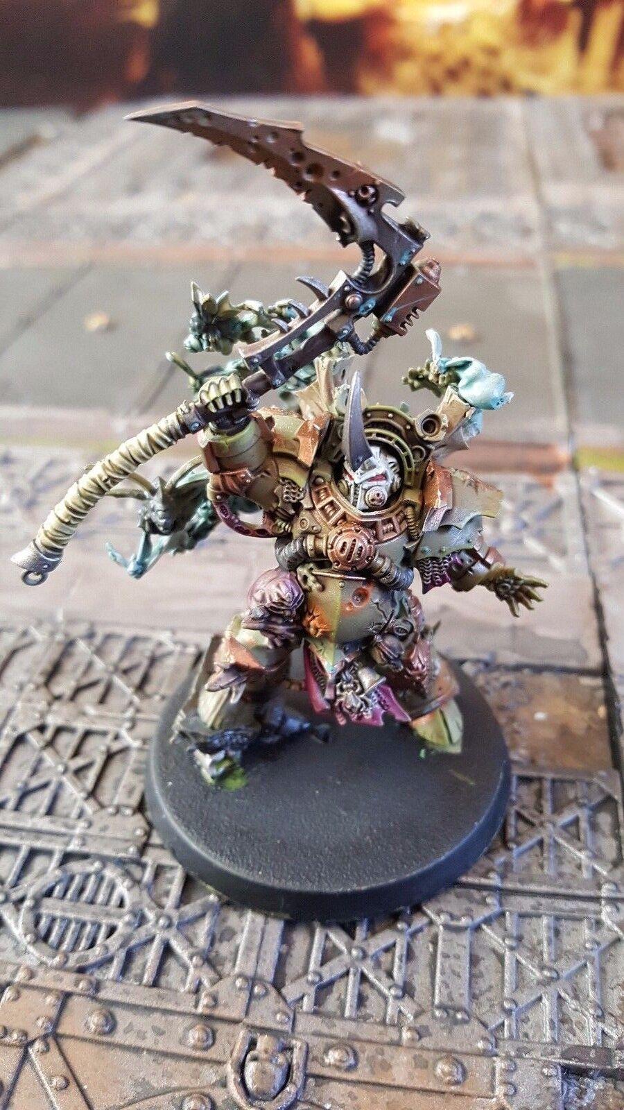 Warhammer 40k projoector de la muerte pro Pintado tifus Hearld de la peste hecho a pedido