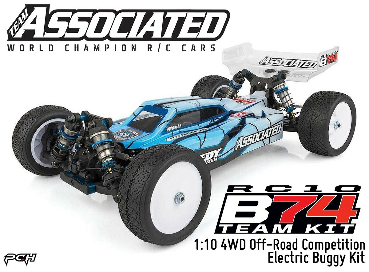 TEAM ASSOCIATED RC STICKERS DECAL 1//10 1//8 TC7 CAR BUGGY OFF ROAD GREEN YELLOW B