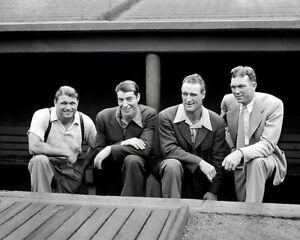 1937-Foxx-Dimaggio-Gehrig-Dickey-Photo-8X10-Buy-Any-2-Get-1-Free