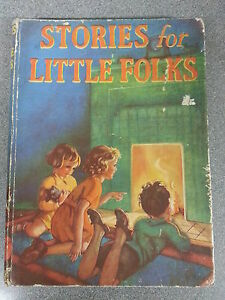 STORIES-FOR-LITTLE-FOLK-by-COLLINS-H-B-3-25-UK-P-P