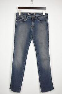 WRANGLER CHARLIE Women's W31 L33 Blue Fade Effect Slim Fit Jeans 35795-GS