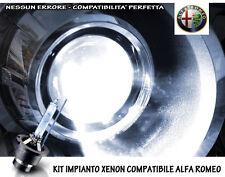 """KIT IMPIANTO XENON H7 BIANCO GHIACCIO 6000K SPECIFICO """"ALFA ROMEO 147"""" NO ERRORI"""