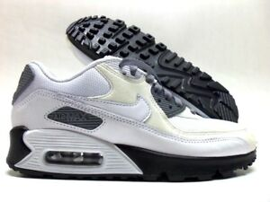 Details about NIKE AIR MAX 90 ID WHITEDARK GREY SUMMIT WHITE SIZE WOMEN'S 6 [653536 998]