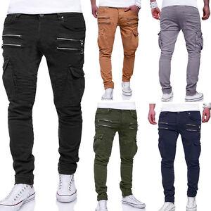 Jeans Zipper Style Herren Schwarzblaugraukhakibeige Zu Cargo Chinohose Details Neu Hose 35qRjSc4AL